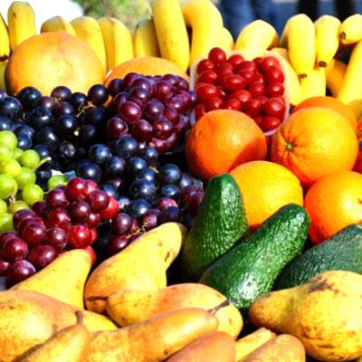 Spis rigelig frugt og grøntsager