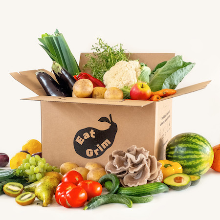 Typer af frugt- og grøntkasser fra Eat Grim