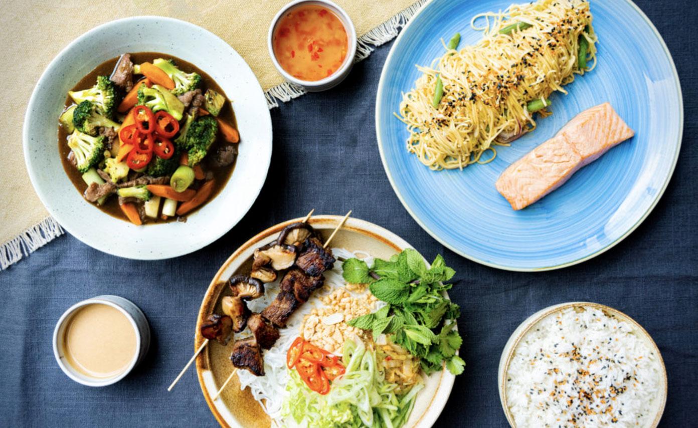 Spændende, smagfulde og nemme asiatiske retter