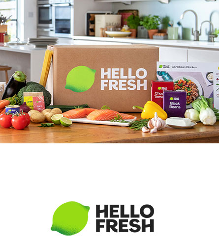 HelloFresh måltidskasser